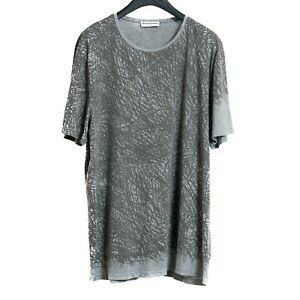 d829a6ce Image is loading BALENCIAGA-T-SHIRT-GREY-GRAPHIC-T-SHIRT-SIZE-