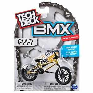 Series 13 BMX Finger Bike Cult Spin Master Tech Deck Gold//Black