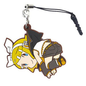 Vocaloid Kagamine Rin Character Tsumamare Pinch Phone Strap Cospa Anime Art