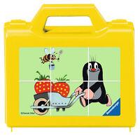 6 Teile Ravensburger Kinder Würfel Puzzle Der Kleine Maulwurf Garten 07466