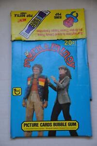 1978-Mork-amp-Mindy-Empty-Topps-Bubble-Gum-Vintage-Trading-Card-Box