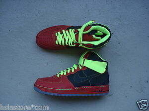 negro Print ID Rojo 1 Air High Elephant Premium Nike voltio 45 Force 0HqfwfFv