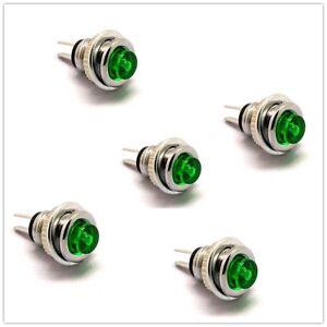 2pcs 8mm Mini Micro 2Pin Metal Waterproof Momentary Push Button Switch new.