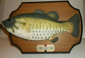 BIG-MOUTH-BILLY-BASS-1999-GEMMY-INDUSTRIES-NOT-WORKING