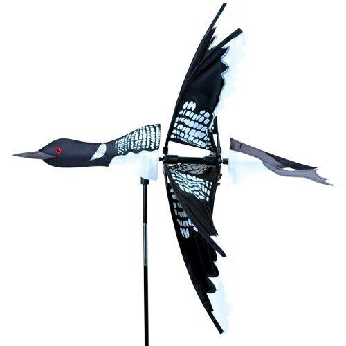 Décoration de jardin, magasin Canard, oiseau Eolienne, Moulin à vent, Girouette