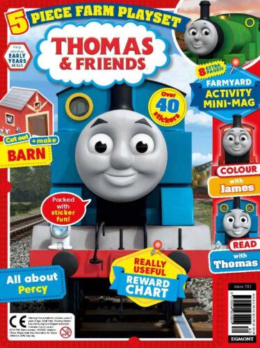 Egmont UK-plus de 40 autocollants Thomas /& Friends #782 5 pièces ferme Playset /> NOUVEAU /<