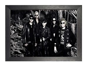 Details about Scorpions 5 German Rock Band Poster Music Star Legend Photo  Meine Black White