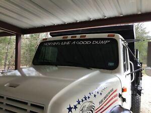 Dump truck windshield graphic,decal,sticker Kenworth, Mack ...Kenworth Dump Trucks Graphics