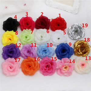 Wholesale silk roses 8cm artificial flower heads bulk for wedding image is loading wholesale silk roses 8cm artificial flower heads bulk mightylinksfo