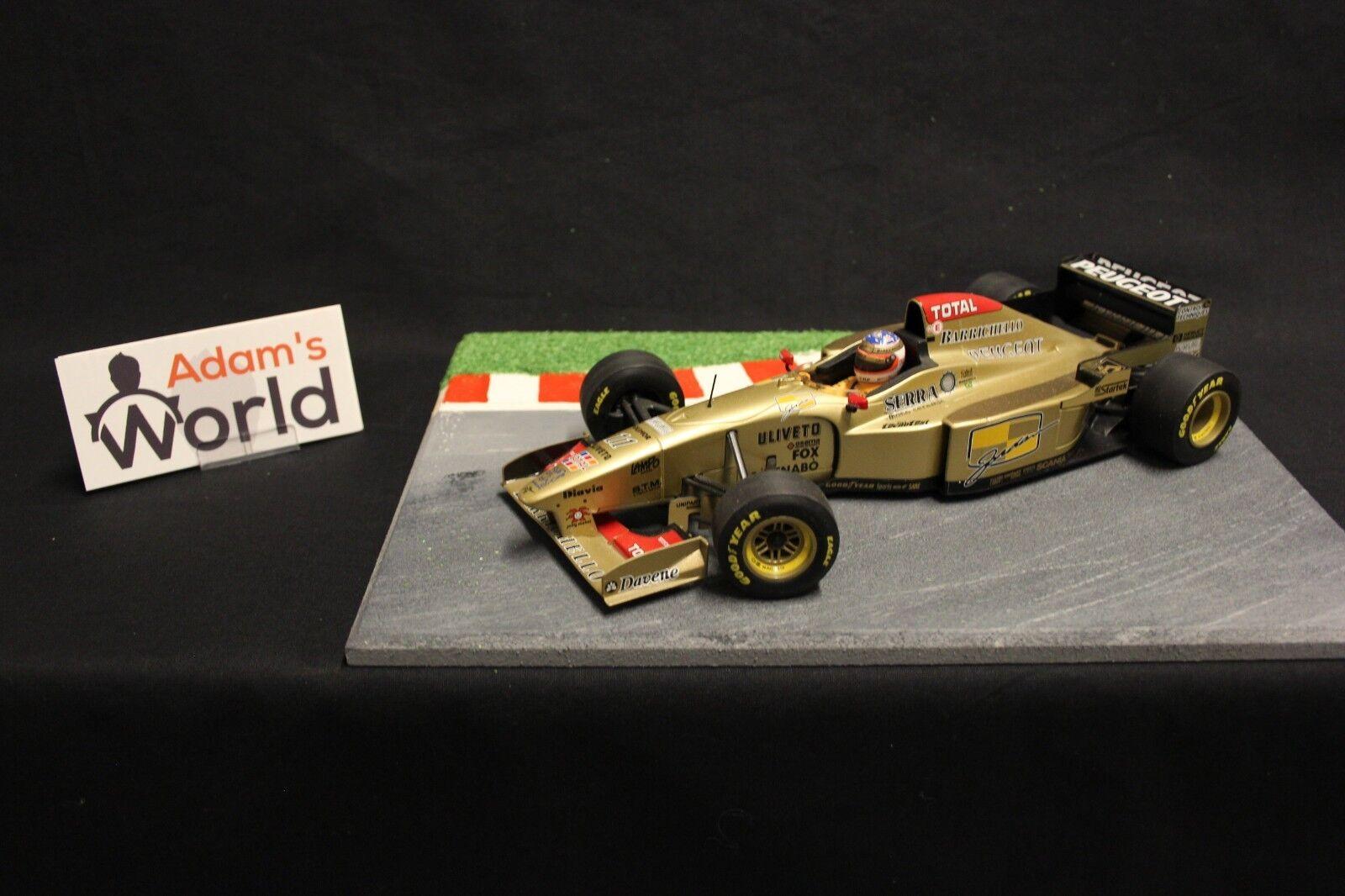 buscando agente de ventas Minichamps Jordan Peugeot 196 1996 1 18    11 Rubens Barrichello (BRA) (F1NB)  mejor calidad