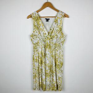 H-amp-M-Womens-Dress-Size-Medium-Au-10-Floral-Sheath-Dress-Sleeveless-Gorgeous