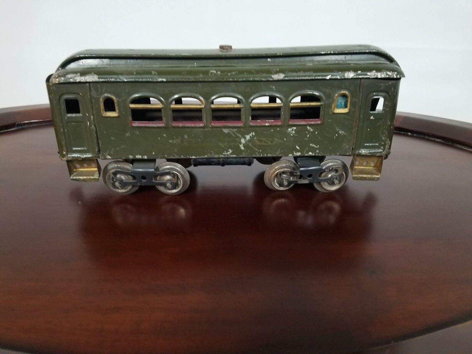 Lionel Pullman Train Car New York Central Line USA Spielzeug Tin Metal Spielzeug Masse