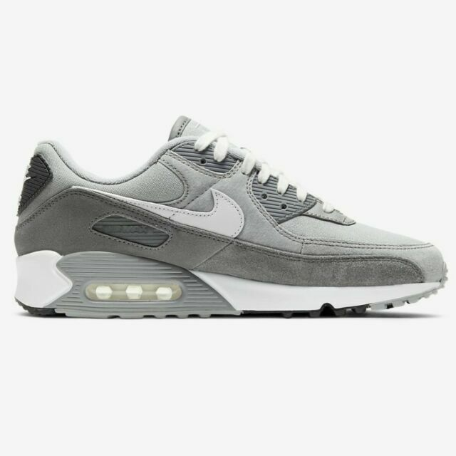 Size 12 - Nike Air Max 90 Premium Light Smoke Gray for sale online ...