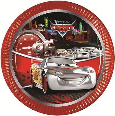 Disney CARS SILVER EDITION Birthday PARTY RANGE (Partyware/Celebration)