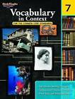 Vocabulary in Context for the Common Core Standards, Grade 7 by Steck-Vaughn (Paperback / softback, 2011)