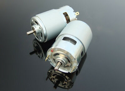 1pcs DC12-24V 3000-20000rpm RS775 Double Shaft High Speed DC Motor for DIY Parts