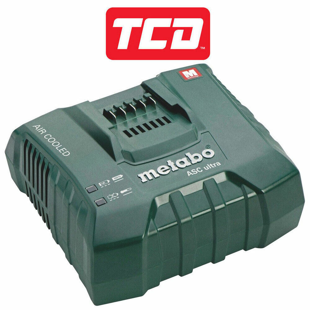 Metabo ASC Ultra Air Cooled Battery Charger 14.4 - 36V