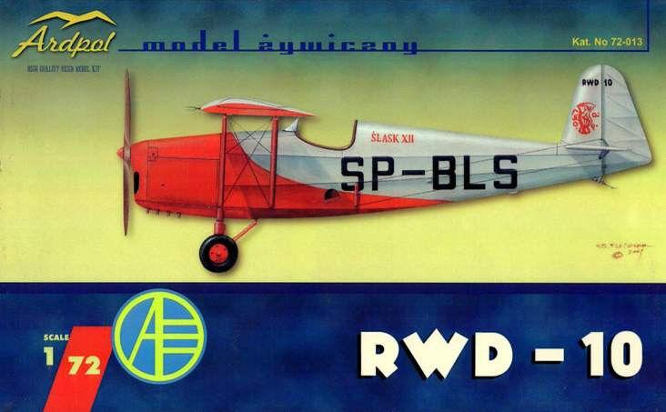 RWD 10  (POLISH MARKINGS) 1 72 ARDPOL (pzl)