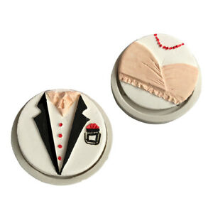 Tuxedo-Dress-Silicone-Fondant-Mold-Chocolate-Gumpaste-Cake-Mould-Baking-Tool-Fr