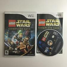 LEGO Star Wars: The Complete Saga Nintendo Wii Complete in Box Tested Working