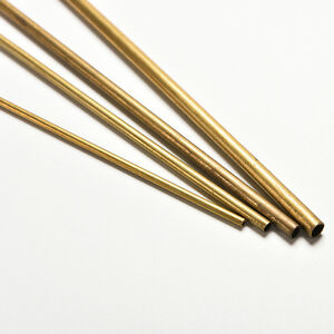 Brass Pipe Copper Pipe Copper Tube2mm 3mm 4mm 5mm Long 300mm Wall 0.5mm OS