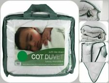Anti-Allergy Toddler Baby Cot Bed Duvet//Quilt /& Pillow/_Tog 4.5 7.5 and 9