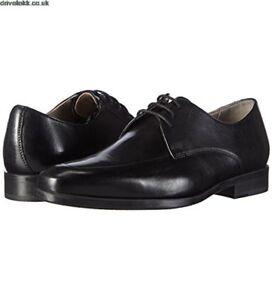 Detalles de Clarks Zapatos de Cuero de Vestir con Cordones Talla UK8.5 EUR42.5 US9.5