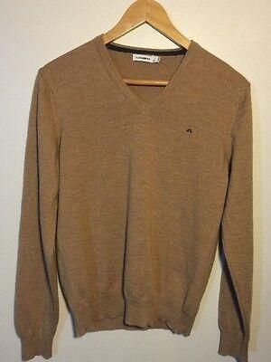 J.Lindeberg Mens Merino V-Neck Sweater