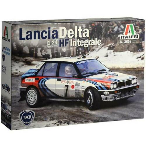 Automodello in kit da costruire italeri 510003658 lancia hf integrale 1:24