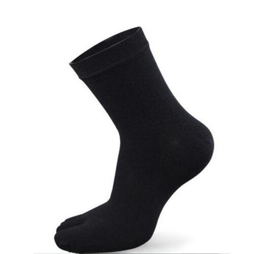New Men Women Running Soft Cotton Long// Short  Full Five Fingers Toe Crew Socks