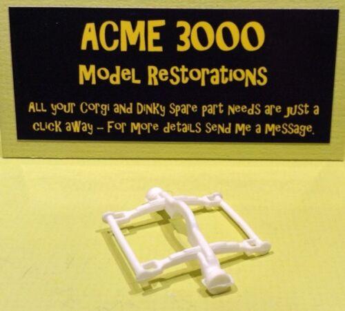 Popeye Paddle Vagón Corgi 802 Unidad De Suspensión Eje Delantero reproducción REPRO