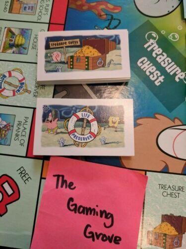 Spongebob Squarepants Monopoly Replacement Pieces Many Available Mix /& Match!