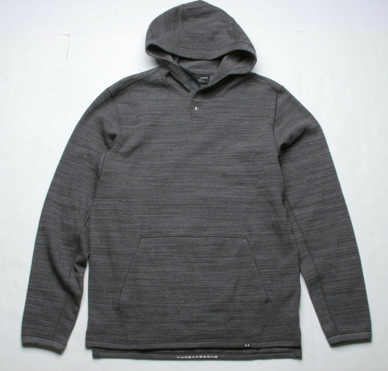 Under Armour Threadborne Hoody (L) Braun