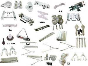 Aluminum-CNC-Machined-Up-Part-for-RC-1-10-AXIAL-SCX10-ELECTRIC-4WD-car-Silver