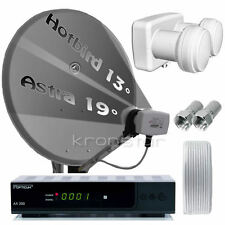 Digitale HD SAT-Anlage Astra Hotbird OPTICUM AX300 USB Receiver DIGITAL DVB-S2