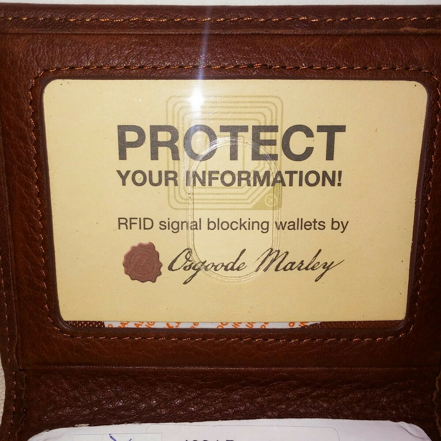 Osgoode Marley credit card and ID Case