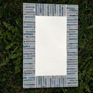 Mosaic-Mirror-Oblong-Glass-Blue-Wall-Hanging-Fair-Trade-Rectangle