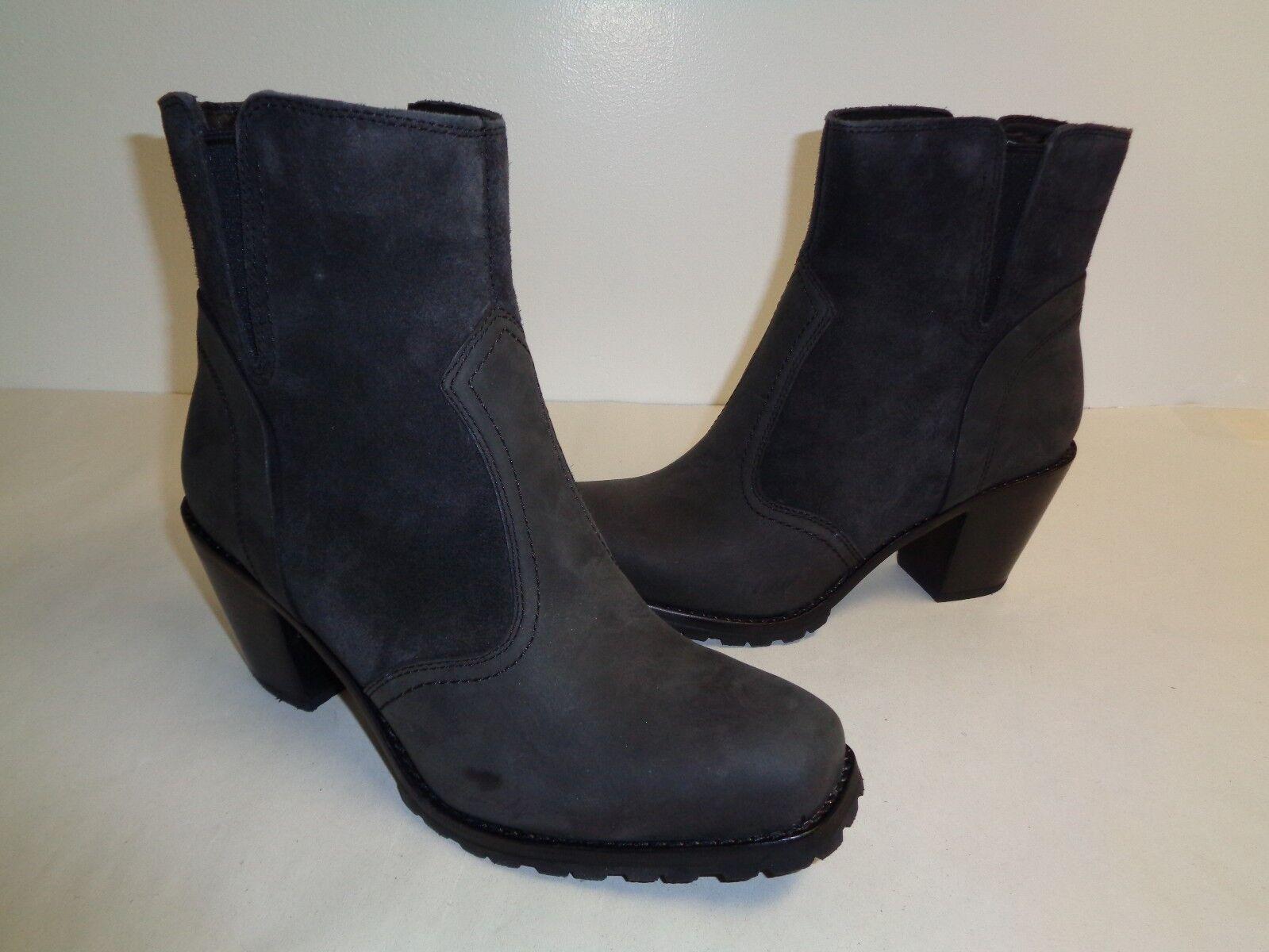 Woolrich Talla 9.5 Kiva gris gris gris Humo De Invierno botas Zapatos para mujer nuevo occidental de cuero f3d2f1