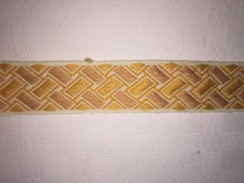 11,50 METRES DE GALON ANCIEN PASSEMENTERIE DE LYON--N°JU 5
