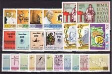 Vaticano 1981 annata completa (24 valori) MNH