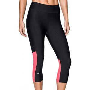 New Women s Under Armour 3 4 Capri Running Leggings Jogging Gym ... 3eab05099