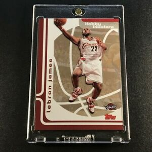 LEBRON-JAMES-2006-TOPPS-HM3-HOBBY-MASTERS-FOIL-INSERT-CARD-CAVALIERS-NBA