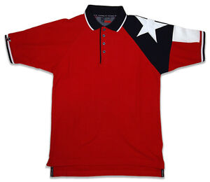 Rockpoint-Mens-Texas-Polo-w-Embroidery-034-God-Bless-Texas-034