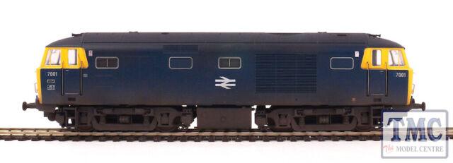 3529 Heljan OO Gauge Class 35 Hymek (D)7001 in BR blue with full yellow ends