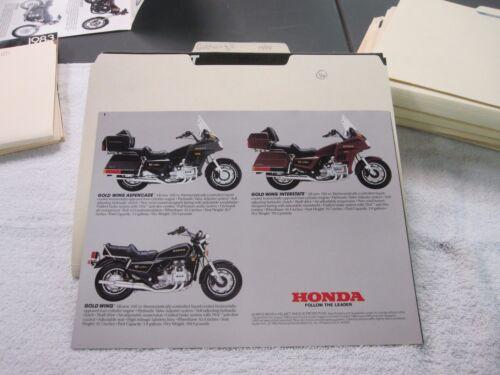 NOS Honda 1984 THE STREET     DEALER SALES BROCHURE