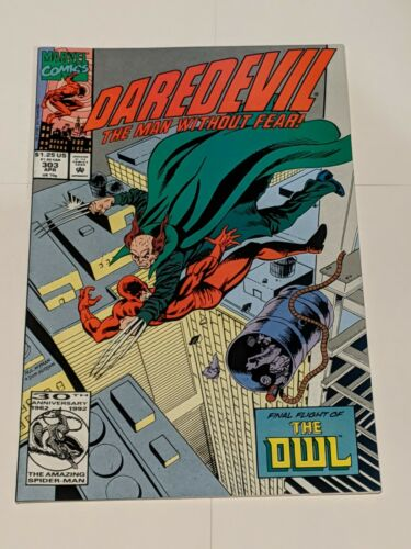 Daredevil #302 March 1992 Marvel Comics The Man Without Fear