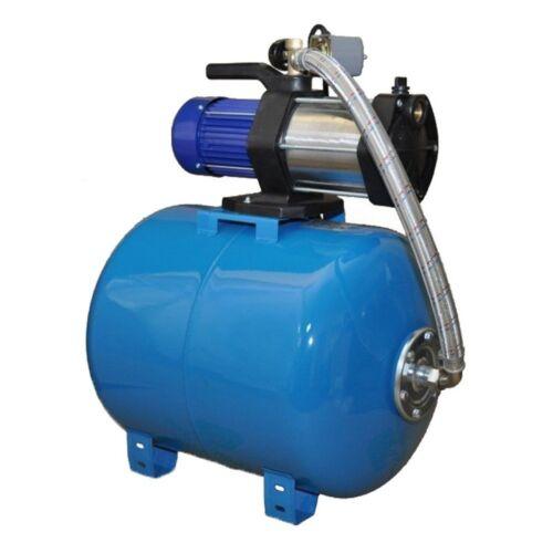Wasserpumpe 1100W 90 L//MIN 24L Druckbehälter Gartenpumpe Hauswasserwerk Set