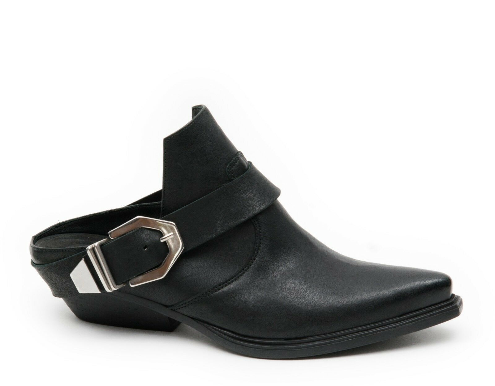 Zapatos casuales salvajes Vic genuina sabots sabot zapato bajo Black 1q4996dq31p140101 Black bajo reduce negro 50b216