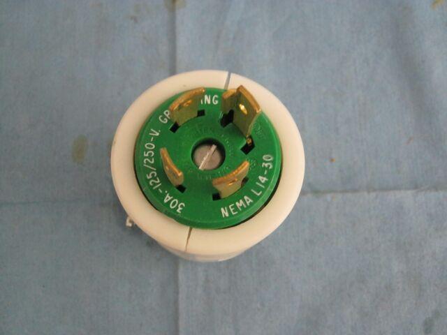 Leviton  30a  125  250v Twist Lock Plug  Nema L14