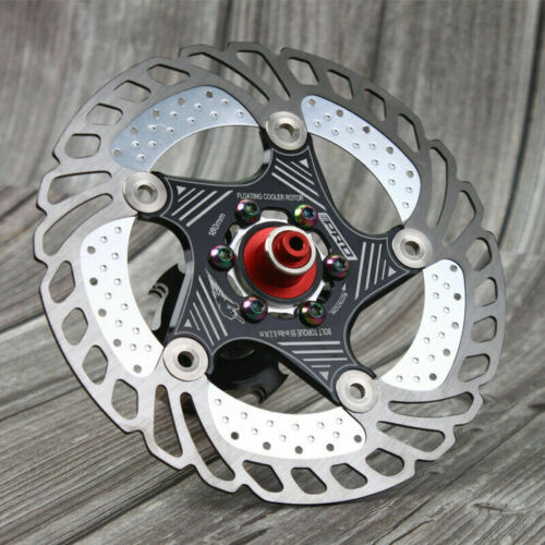 140//160//180//203mm MTB Bike Floating Disc Brake Rotor PM//IS Brake Adapter Caliper